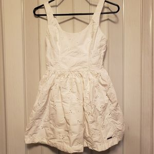 Abercrombie & Fitch White Blouse